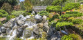 Garden Waterfall Royalty Free Stock Photo