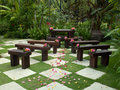 Garden Wedding Seating