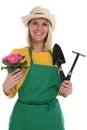 Gardener Gardner Young Woman W...