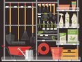 Horticulture accessory and gardener equipment