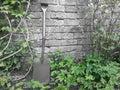 Gardener spade and stuff Royalty Free Stock Photos