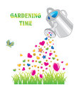 Gardening time Royalty Free Stock Images