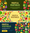 Gardening vector logo. food or fruits, vegetables Royalty Free Stock Photo