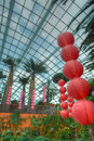 Gardens by the Bay, Flower Dome: Chinese New Year Royalty Free Stock Photos