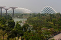 Gardens by the bay in singapore at marina sands hotel Stock Image