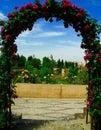 Gardens of Generalife Royalty Free Stock Photo