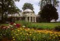 Gardens at Jefferson's home at Monticello Royalty Free Stock Photos