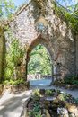 Gardens of the Palace of Monserrate in the outskirts of Sintra in Portugal Royalty Free Stock Photo