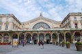 Gare de l est paris exterior of the east station in france on march designed by architect francois duquesnay the station first Stock Image