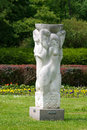 Garen sculptured central botanical garden of the national academy of sciences of belarus Royalty Free Stock Photography
