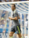 Gareth bale of real madrid during a spanish league match against rcd espanyol at the power stadium on september in barcelona spain Royalty Free Stock Photos