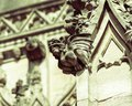 Gargoyle A on St Mary Redcliffe Church Bristol Royalty Free Stock Photo