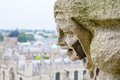Gargoyle St. Mary The Virgins Church. Oxford, England Royalty Free Stock Photo