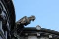 Gargoyles of basilica sacre coeur in paris france Royalty Free Stock Images