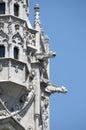 Gargoyles of matthias church in budapest hungary Royalty Free Stock Photos