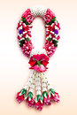 Garland in ancient thai style handmade general Royalty Free Stock Images