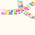 Garland Bunting flags