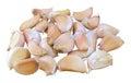Garlic bulb isolated on white background Stock Photos