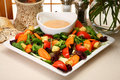 Garlic French Dressing Royalty Free Stock Images