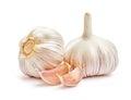 Garlic isolated Royalty Free Stock Photo