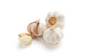 Garlic isolated on white background Royalty Free Stock Photography