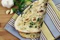 Garlic Naan Royalty Free Stock Photo