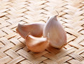 Garlic whole and cloves Royalty Free Stock Photo