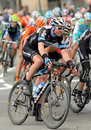 Garmin Cervelo cyclist Thomas Peterson Royalty Free Stock Photo