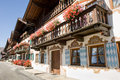 Garmisch partenkirchen old town at germany bavaria Royalty Free Stock Photos