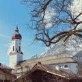 Garmisch-Partenkirchen town in Bavaria, Germany