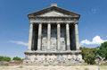 Garni armenia the greek temple at Royalty Free Stock Photography