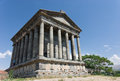 Garni armenia the greek temple at Stock Images