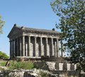 Garni pagan temple of of the first century ad the only preserved ancient in armenia Royalty Free Stock Photos
