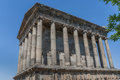 Garni temple in armenia classical of close to yerevan Royalty Free Stock Image