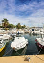 Garrtucha marina garrucha harbour almeria province andalusia spain Stock Photo