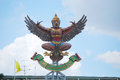 Garuda big on top of bangkok bank bangkok Royalty Free Stock Images