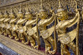 The garuda at emerald buddha temple bangkok thailand Stock Image
