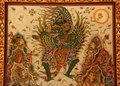 Garuda Hindu Painting Royalty Free Stock Photo