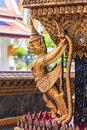 Garuda nagas outside ubosot wat phra kaeo bangkok thailand temple emerald buddha Stock Photos