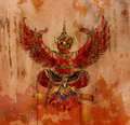Garuda, Thai mythology eagle Royalty Free Stock Photography
