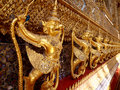 Garuda in wat phra kaew grand palace of thailand Royalty Free Stock Photo