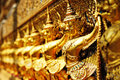 Garuda in Wat Phra Kaew Grand Palace of Thailand t Royalty Free Stock Photography