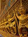 Garuda at Wat Phra Kaew in Thailand Stock Photo