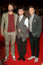 Gary Barlow, Howard Donald, Mark Owen Stock Photography