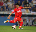 Gary Medel of Sevilla Royalty Free Stock Image