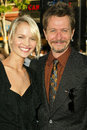 Gary oldman and date elsa at the world premiere of warner bros batman begins chinese theater hollywood ca Royalty Free Stock Photos