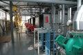 Gas boiler-house Royalty Free Stock Photo