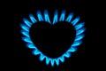 Gas burner Royalty Free Stock Photo
