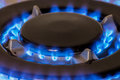 Gas burners Royalty Free Stock Photo
