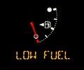 Gas gauge Royalty Free Stock Photo